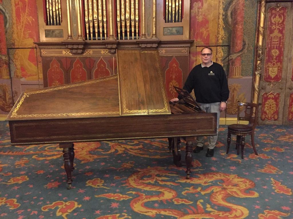 Brighton Palace Piano Move