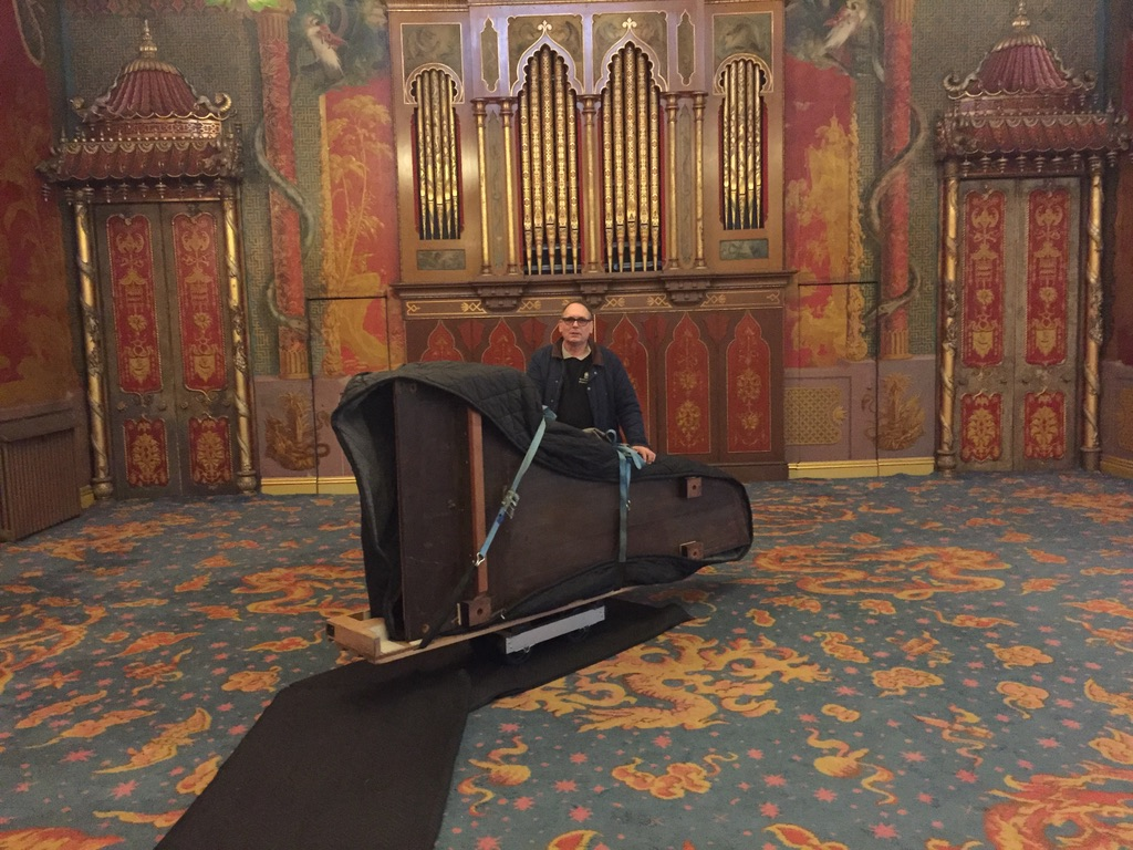 Kent Piano Movers were appointed to move King George IV's