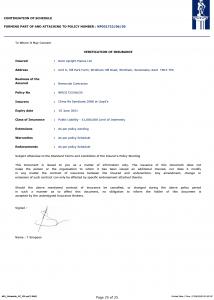 Konsileo Insurance NPL Schedule 2020 Page 25