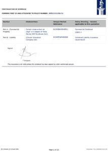 Konsileo Insurance NPL Schedule, 2021-06-22, Page 2